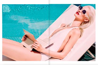 Sayaka para Vogue